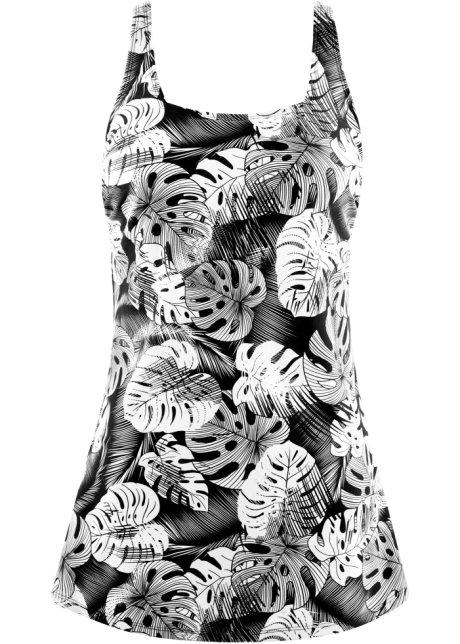Koupací šaty černo-bílá - bpc bonprix collection koupit online ... 6923227d660