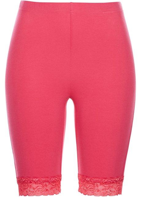 Krátké legíny s krajkou ibišková pink - bpc selection koupit online ... 24ed4ddc33