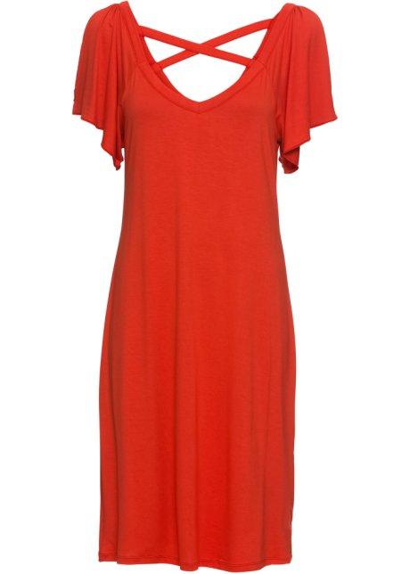 14ab760b2f Zavinovací šaty s průstřihy červená - Žena - RAINBOW - bonprix.cz
