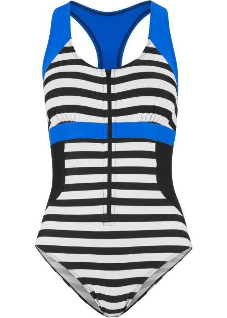 329463aaaab Jednodílné plavky černo-modrá - bpc bonprix collection koupit online ...
