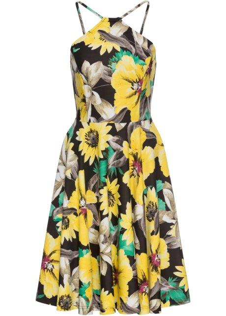 Letní šaty žlutá s květy - Žena - BODYFLIRT boutique - bonprix.cz 6e6f011b7a