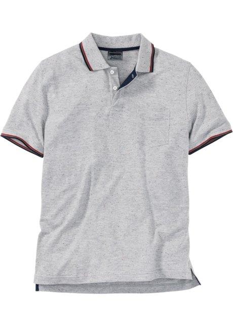 cf35f21776c5 Polo tričko světle šedý melír - bpc selection koupit online - bonprix.cz