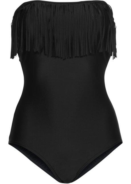 Plavky s třásněmi černá - Žena - bonprix.cz 3245843ccf