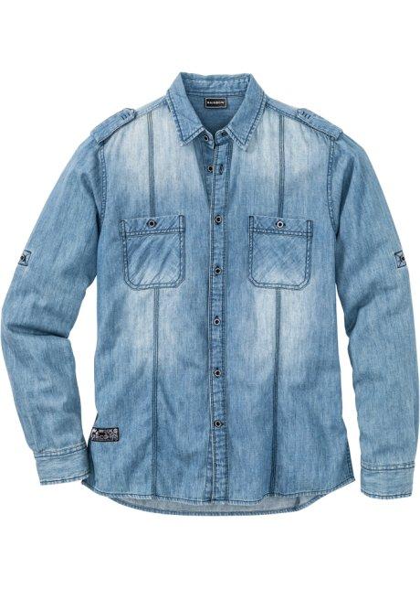 edcb77e37b6 Džínová košile s dlouhým rukávem