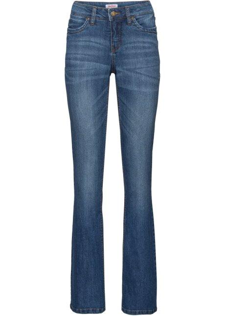 Pohodlné strečové džíny BOOTCUT modrá - John Baner JEANSWEAR koupit ... a18c93ee19