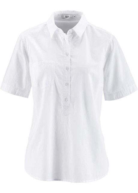 Tunika s krátkým rukávem bílá - bpc bonprix collection objednat ... 823b57de4a