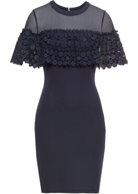 dd5e1da504d3 Krajkové šaty modrá - Žena - bonprix.cz