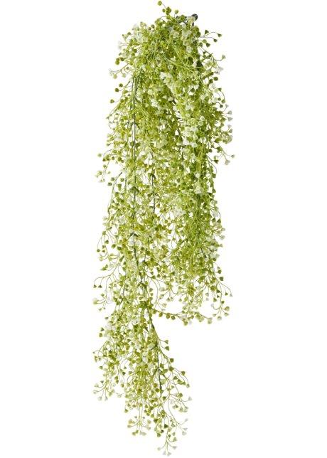 041e16351 Úponky umělé květiny s kvítky zeleno-bílá - bpc living objednat ...