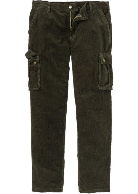 c2a63eea0d66 Manšestrové cargo kalhoty