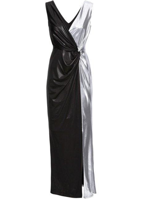 a743766e526a Večerní šaty černo-stříbrná - BODYFLIRT boutique objednat online ...