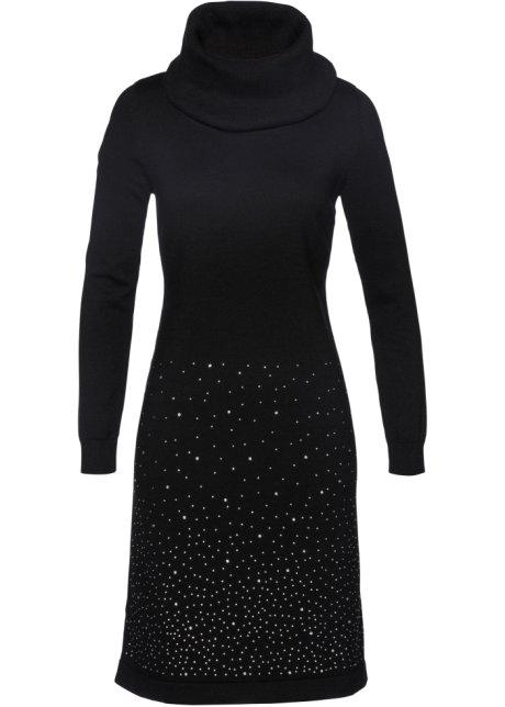 fa65402ccf81 Pletené šaty černá - bpc selection objednat online - bonprix.cz