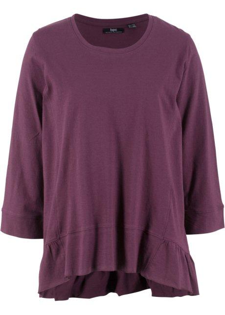 Bavlněné tričko s volány adb2369aa3