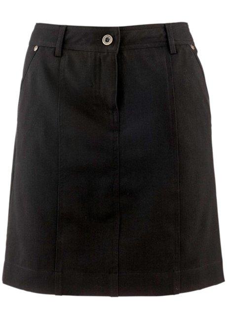 Strečová sukně černá - bpc bonprix collection objednat online ... d13cfe7f19