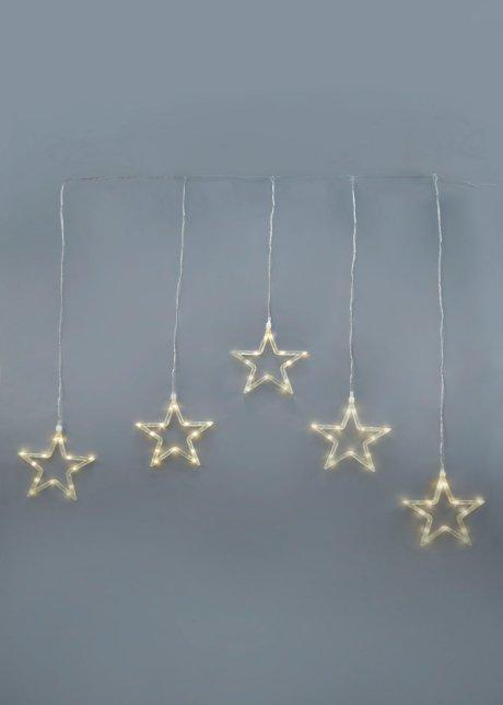 LED okenní dekorace   Hvězdy   transparentní - bpc living - bonprix.cz 861309cbb7