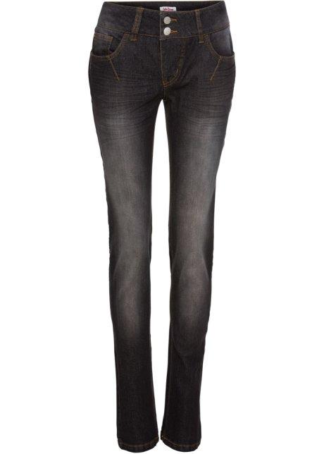 8ea26cd9e82 Pohodlné strečové džíny STRAIGHT černá - John Baner JEANSWEAR koupit ...