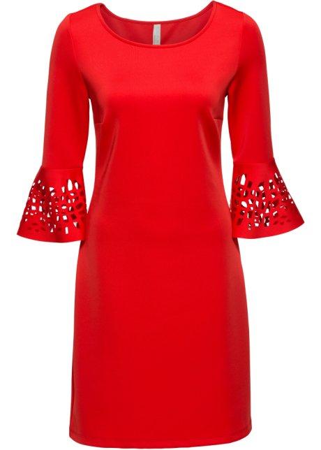 cb56e84286 Šaty s průstřihy červená - BODYFLIRT boutique koupit online - bonprix.cz