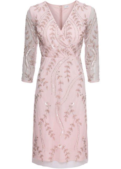 Šaty jemně růžová - BODYFLIRT koupit online - bonprix.cz 24bece7842