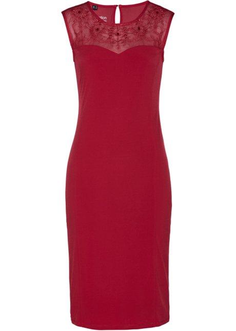 c083d18420e Šaty s kamínky Swarovski® tmavě červená - bpc selection premium ...