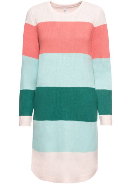 Pletený svetr s kapsami barevné pruhy - RAINBOW - bonprix.cz 5d0dc5fd60