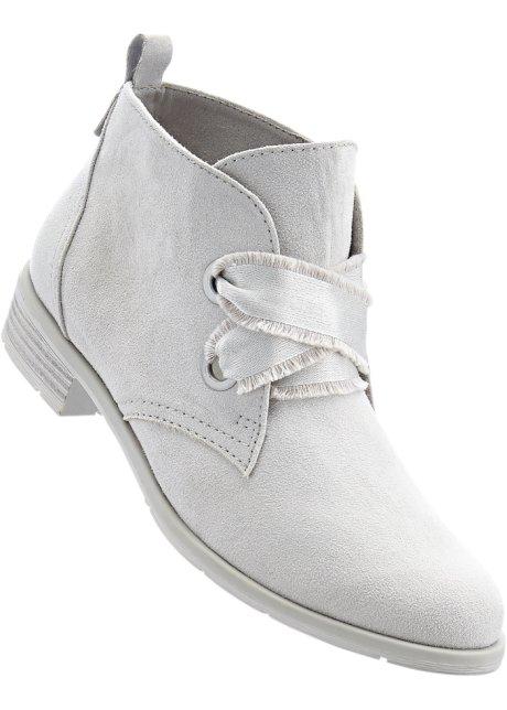 Kotníčková obuv světle šedá - bpc bonprix collection - bonprix.cz ea9b787bba