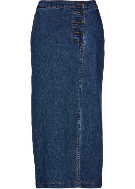 13c2b6185dc5 Džínová sukně modrá stone - bpc selection - bonprix.cz
