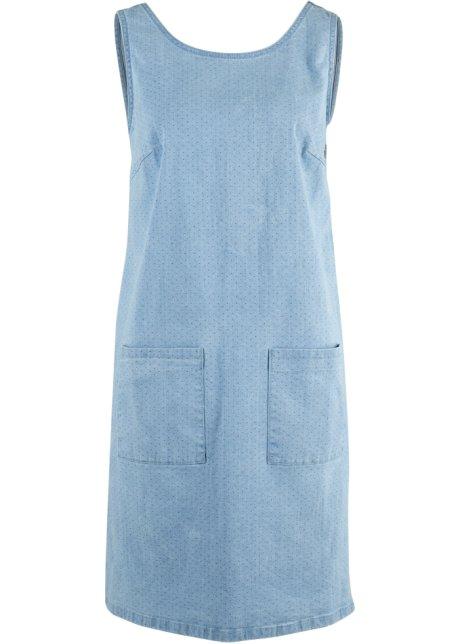 da1251c0416 Strečové džínové šaty