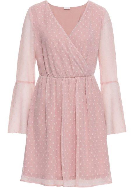 Zavinovací šaty ze šifonu růžová - BODYFLIRT koupit online - bonprix.cz e5cb71dc5b