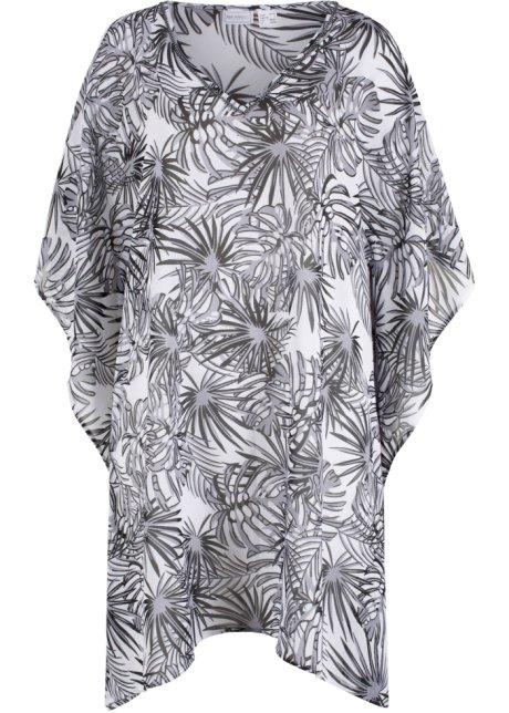 7749f11829fb Plážové šaty bílo-černá se vzorem - bpc selection koupit online ...