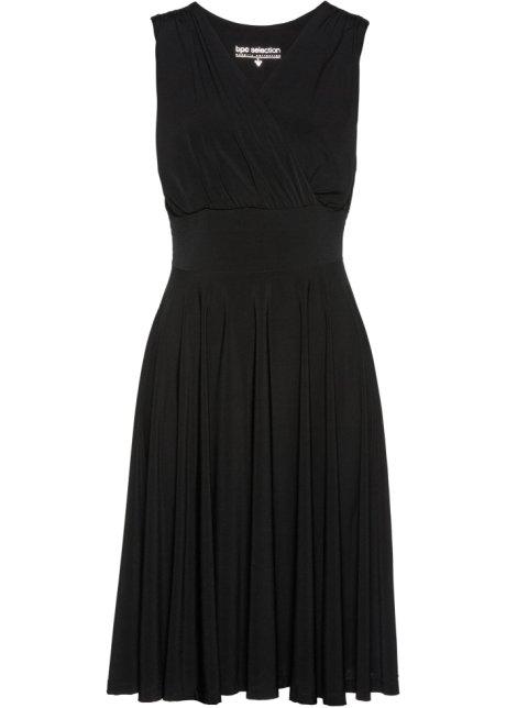 a7064d7db9be7 Úpletové šaty černá - bpc selection - bonprix.cz