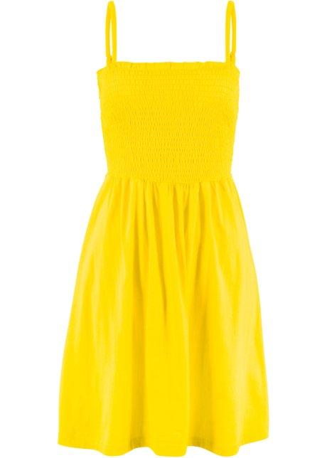 da202c0d4 Úpletové šaty citrónově žlutá - bpc bonprix collection koupit online ...