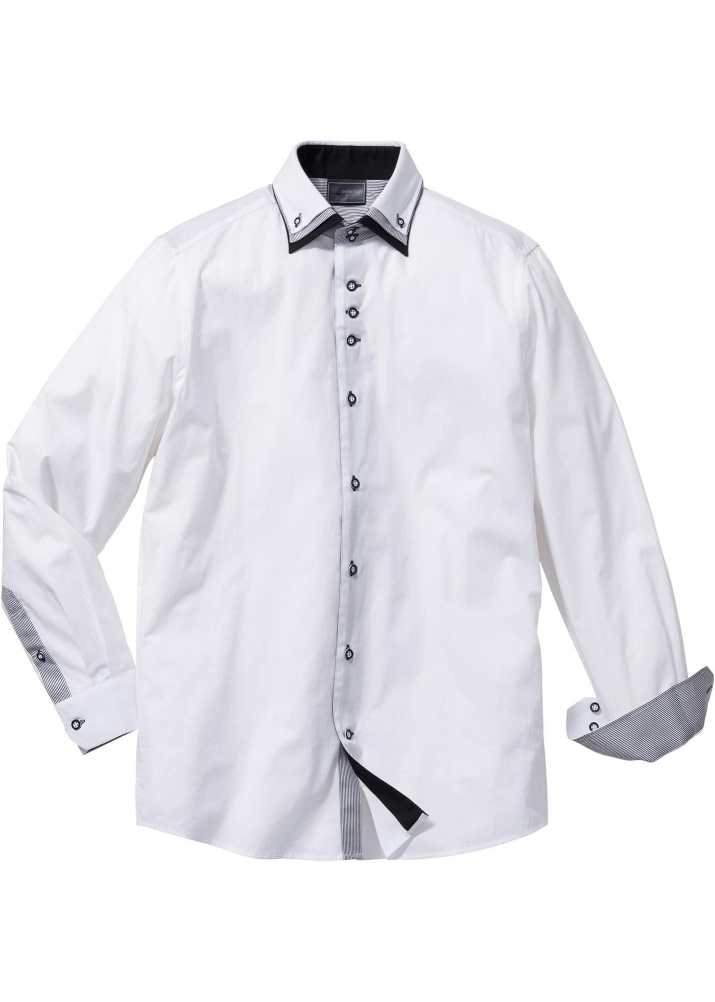 5ab713a90548 Business košile Slim Fit - Bílá