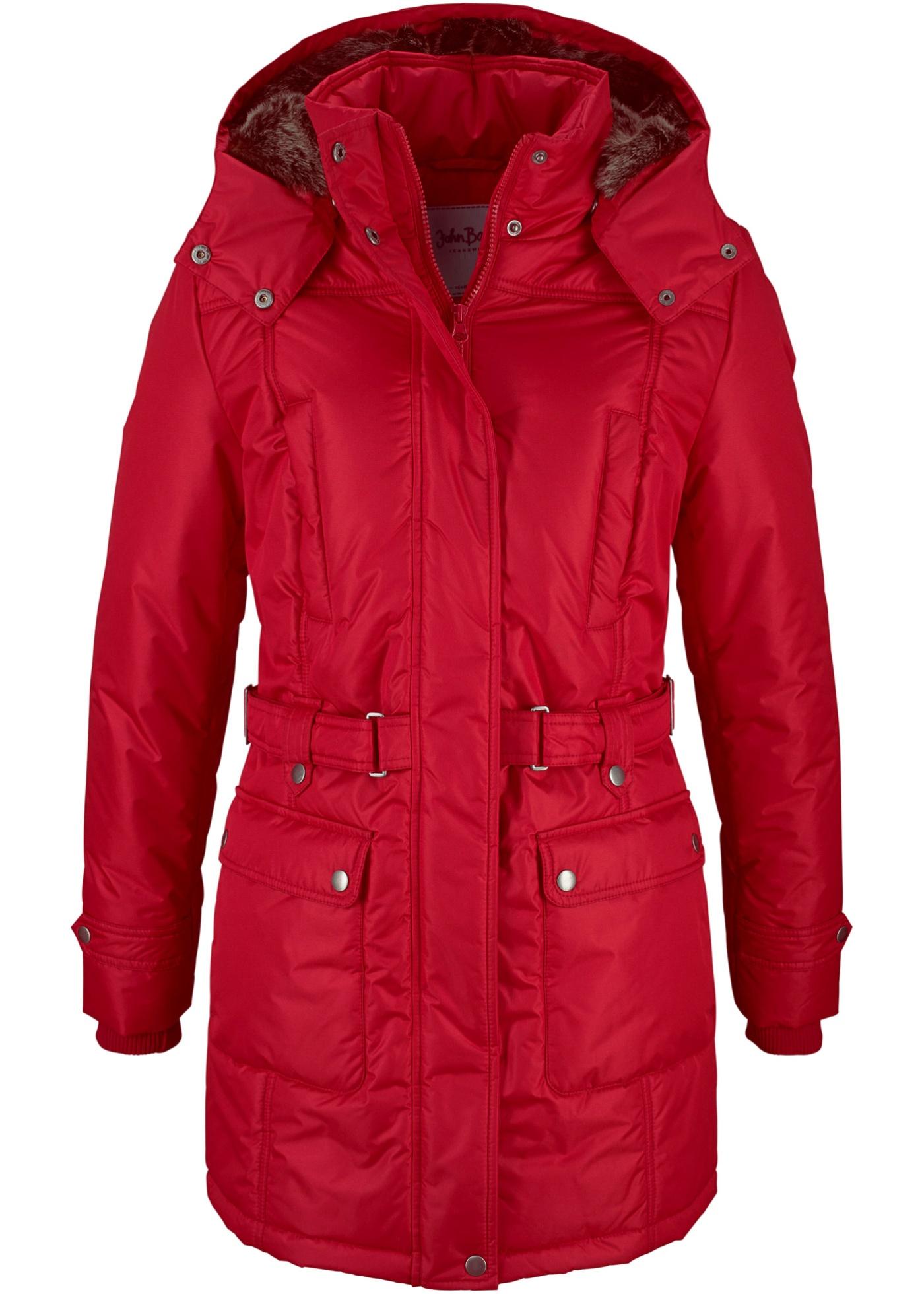 Zimní kabát - Červená