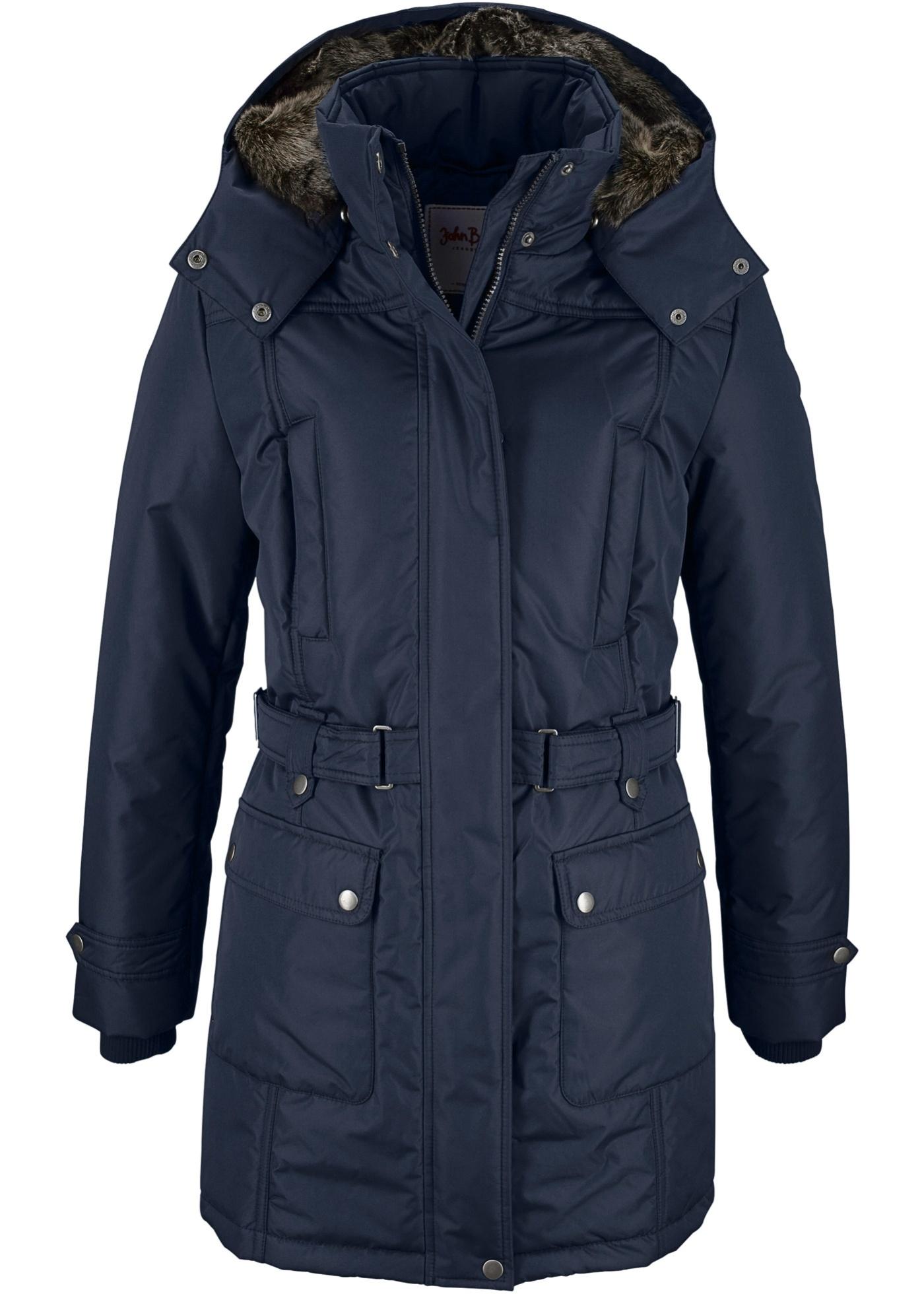 Zimní kabát - Modrá