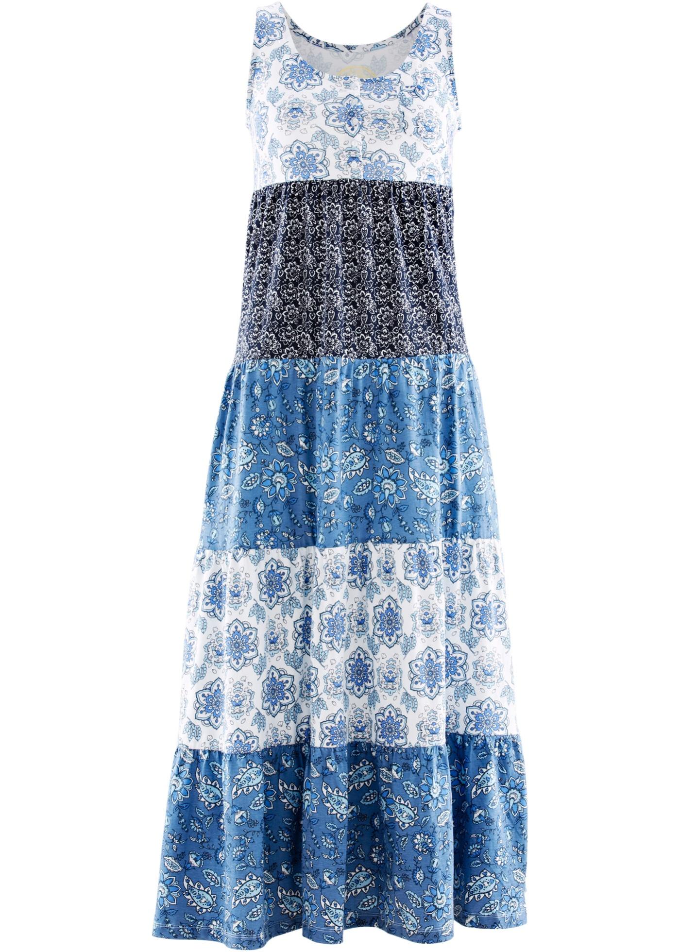 Šaty - Modrá
