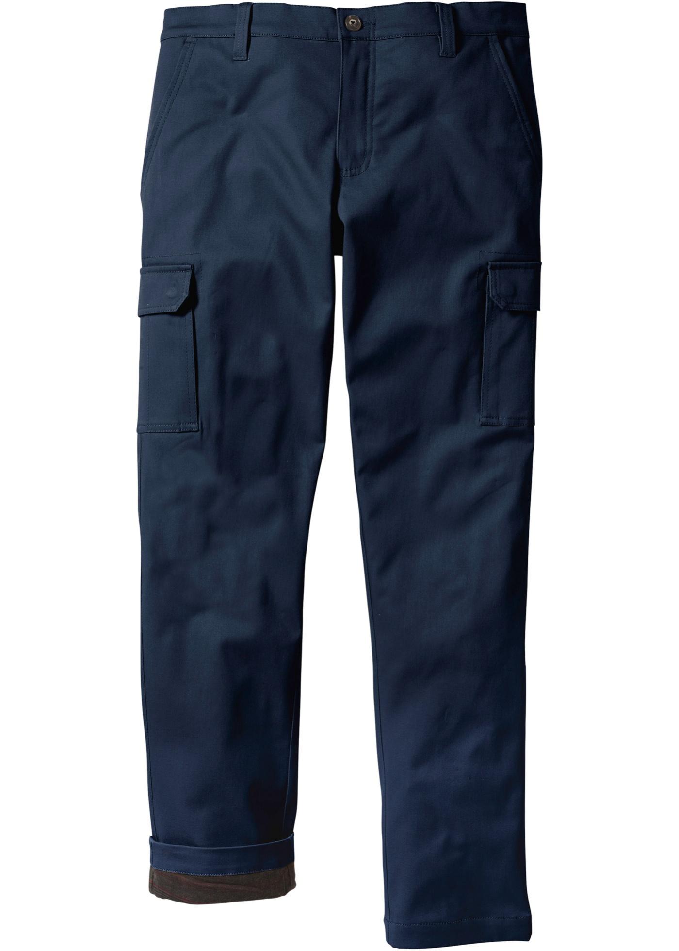 Termo kargo-kalhoty - Modrá