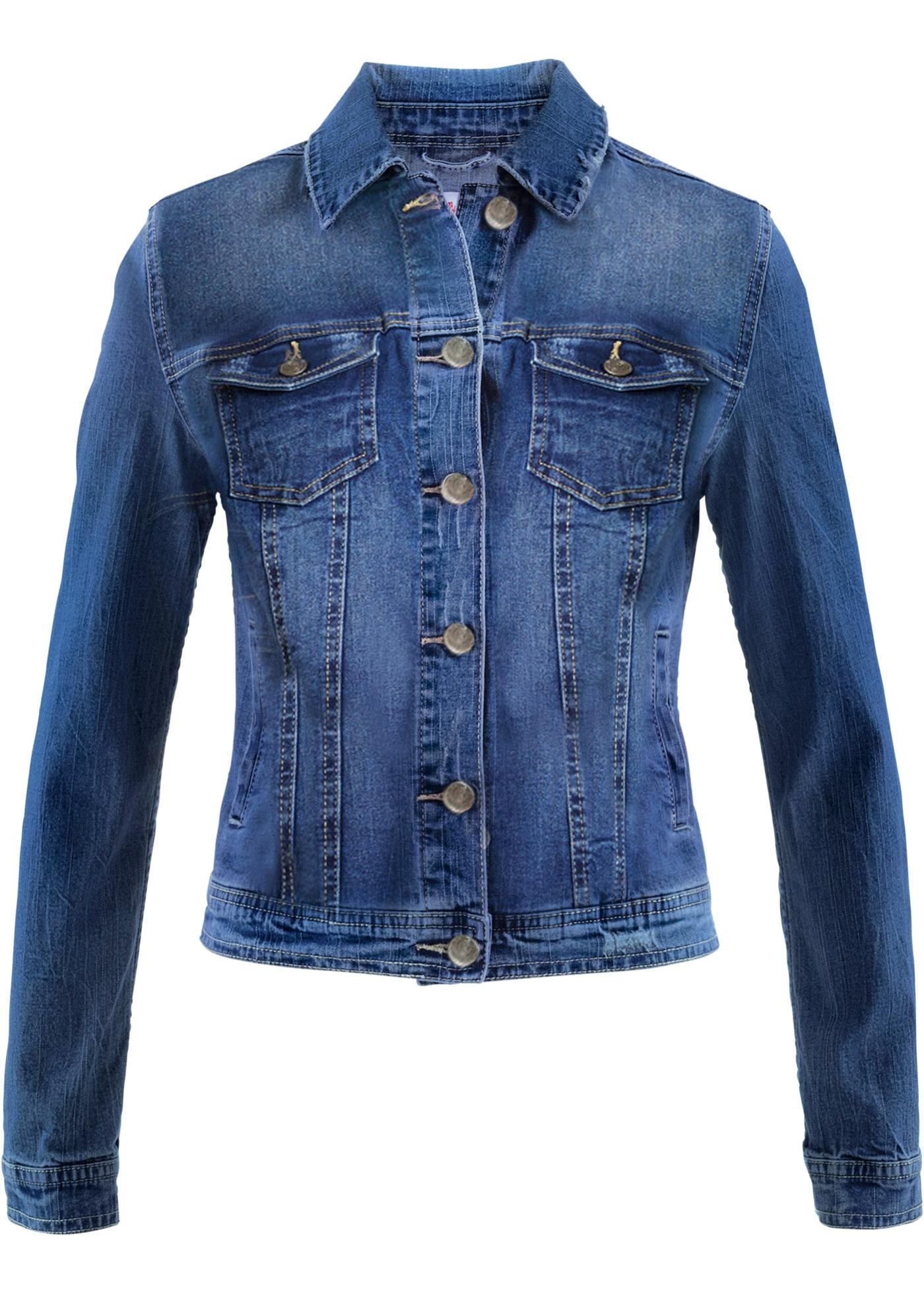 Džínová krátká bunda - designed by Maite Kelly - Modrá