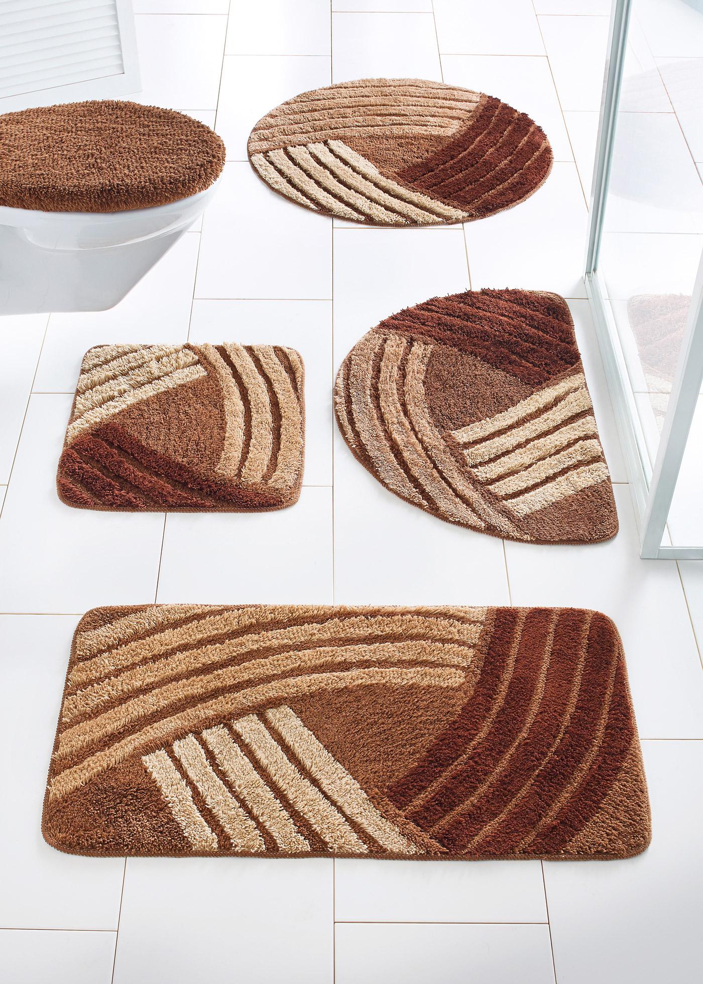 Koupelnový koberec Finja - Oranžová