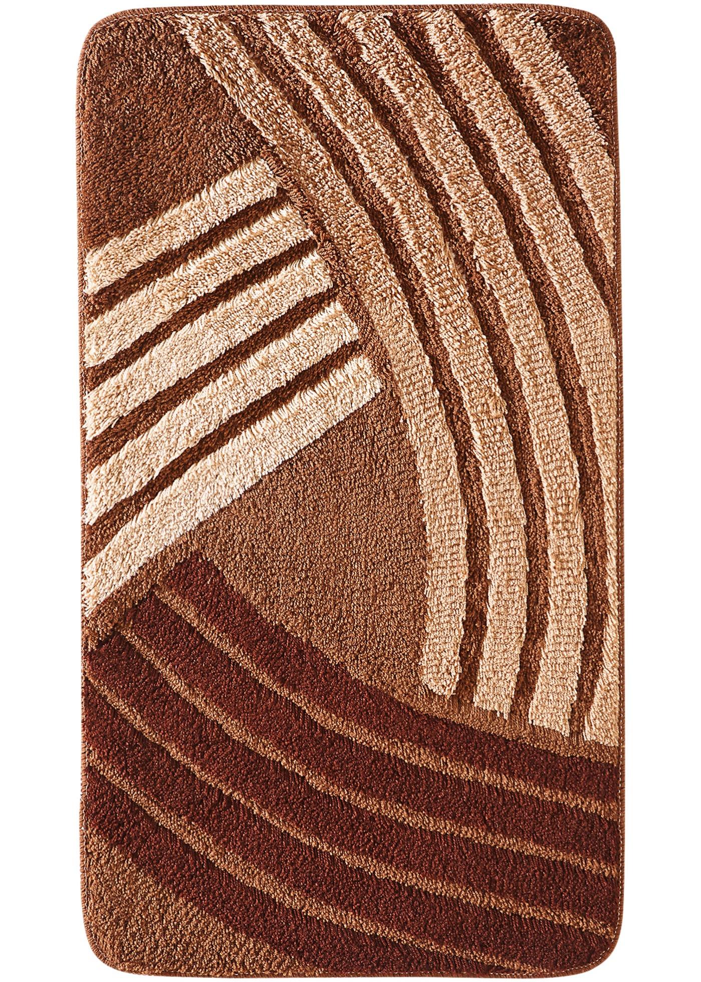 Koupelnový koberec Finja - Hnědá
