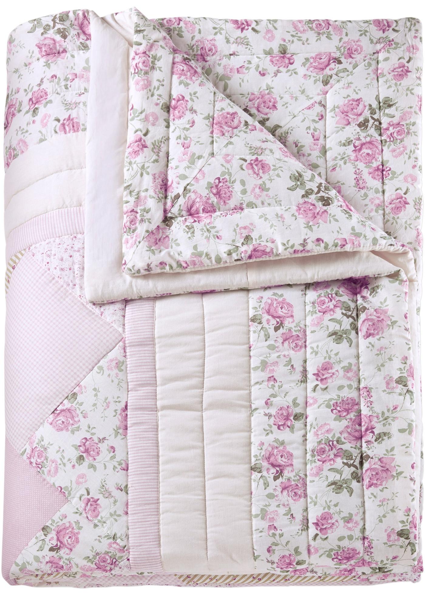 Denní deka Lara - Růžová