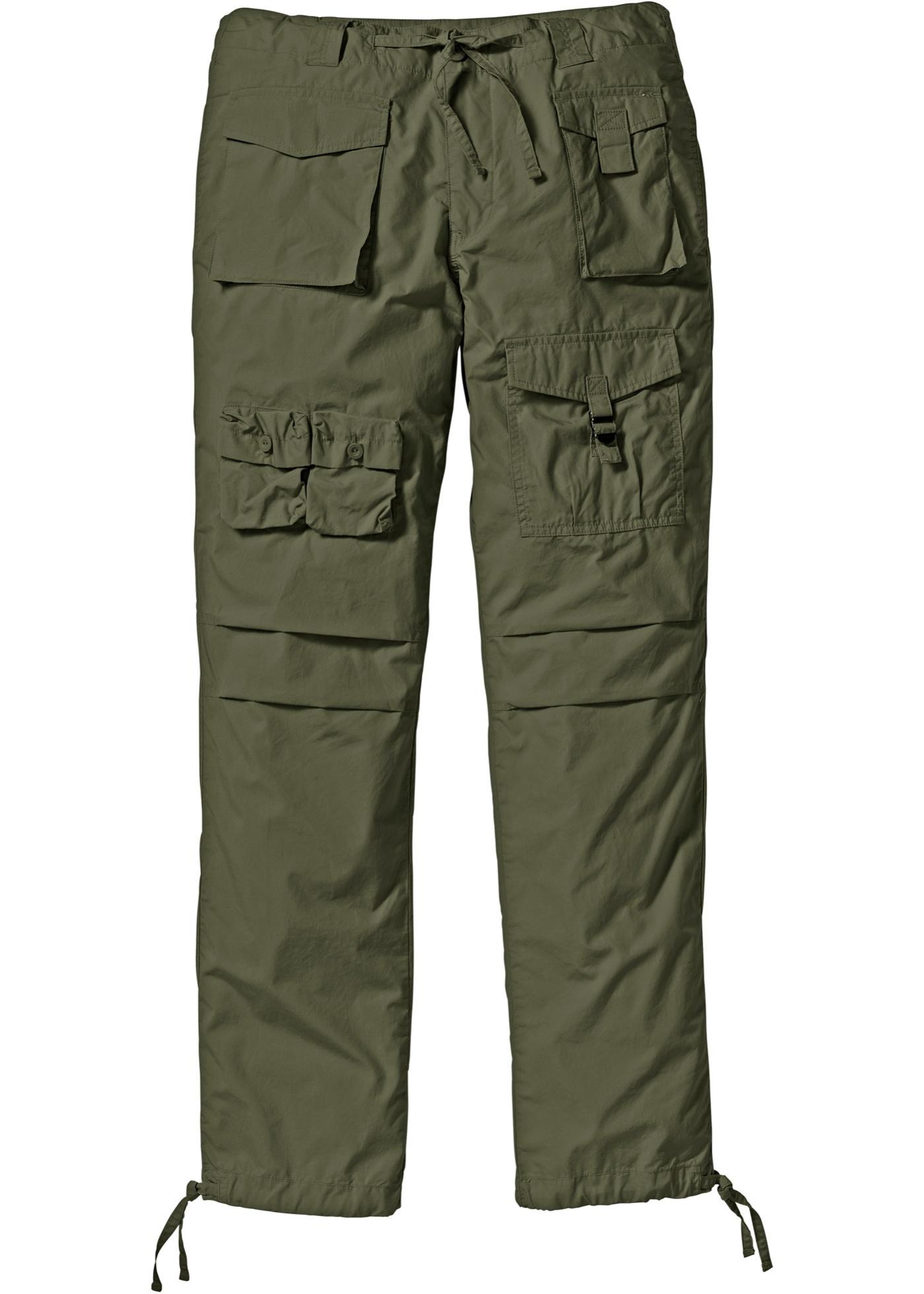 Kargo kalhoty Loose Fit - Zelená