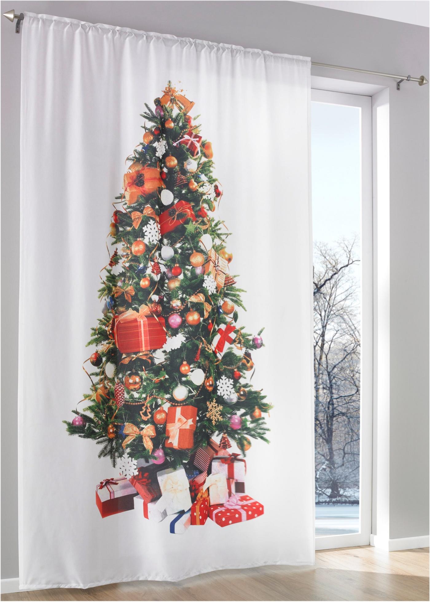 Závěs ''Vánoční stromek'' (1 ks v balení) - Bílá