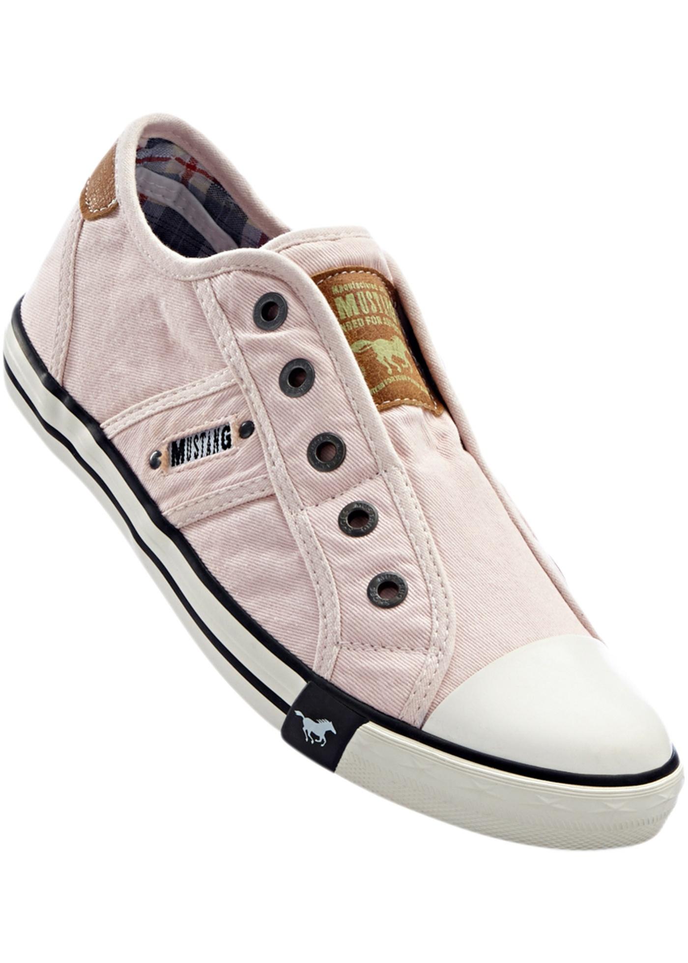 Vycházková obuv značky Mustang - Růžová 7fc8104b9a
