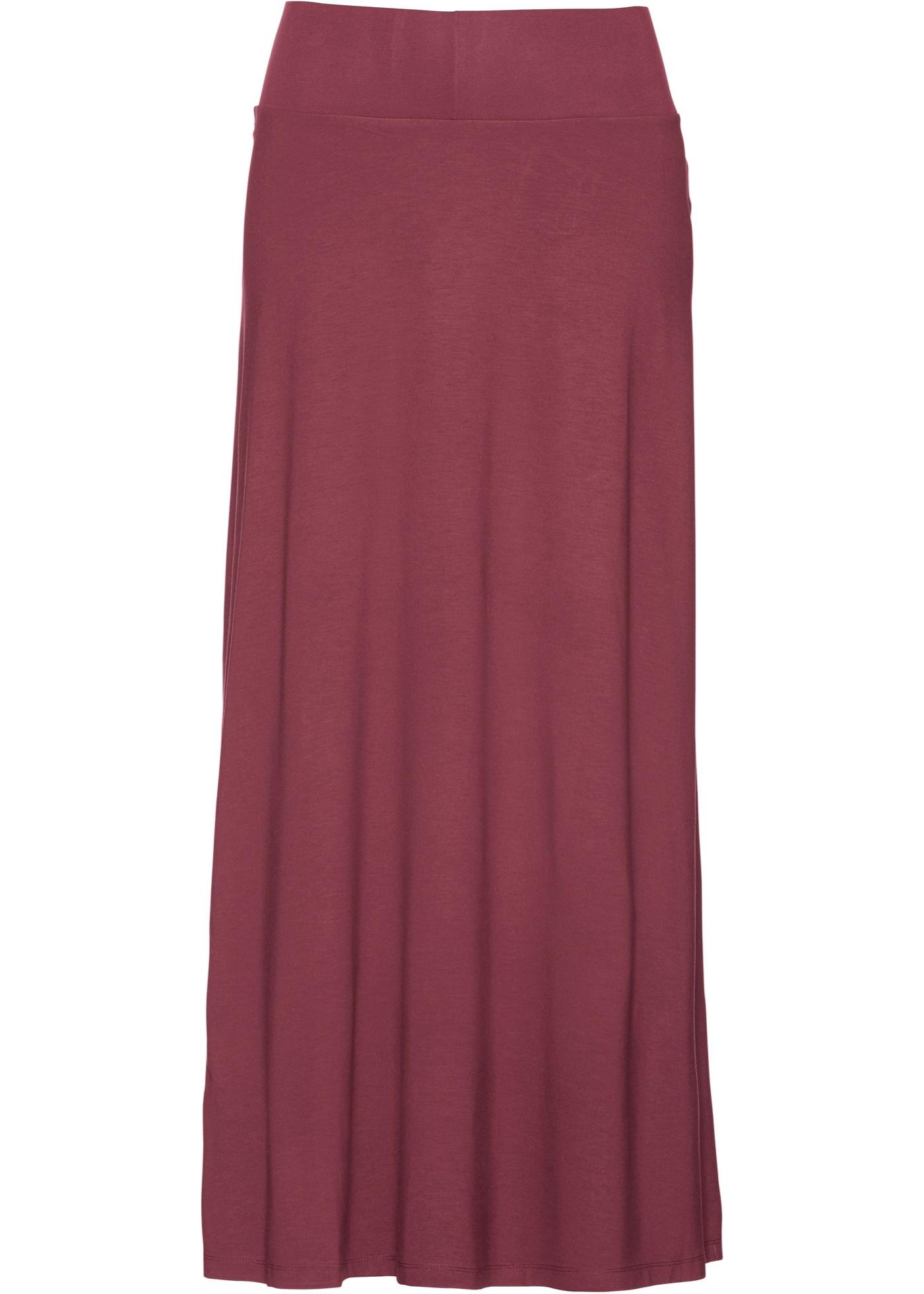Úpletová sukně - Červená