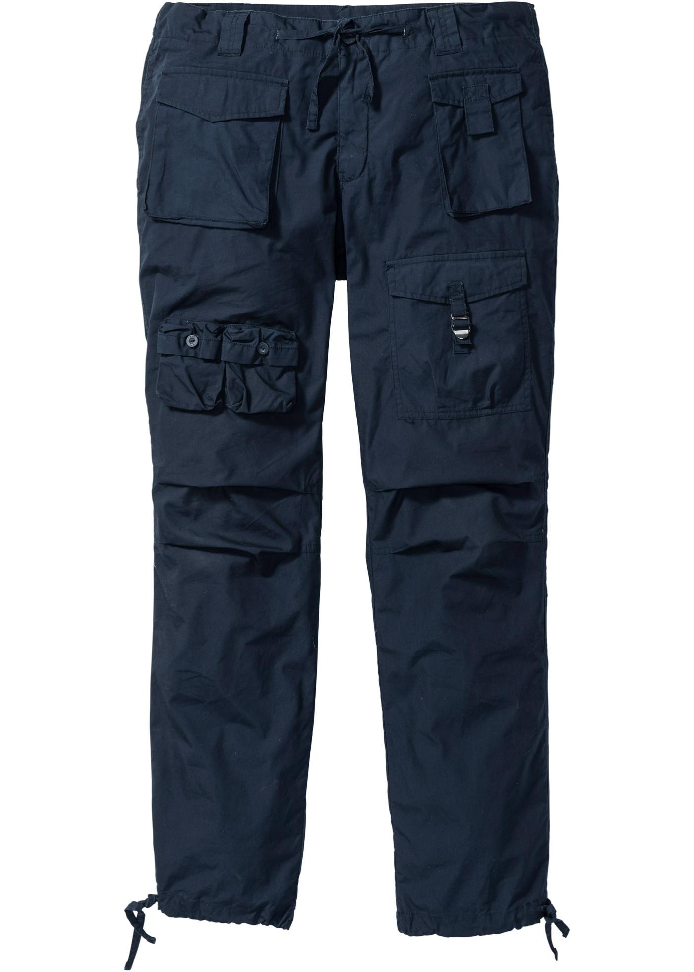 Kargo kalhoty Loose Fit - Modrá