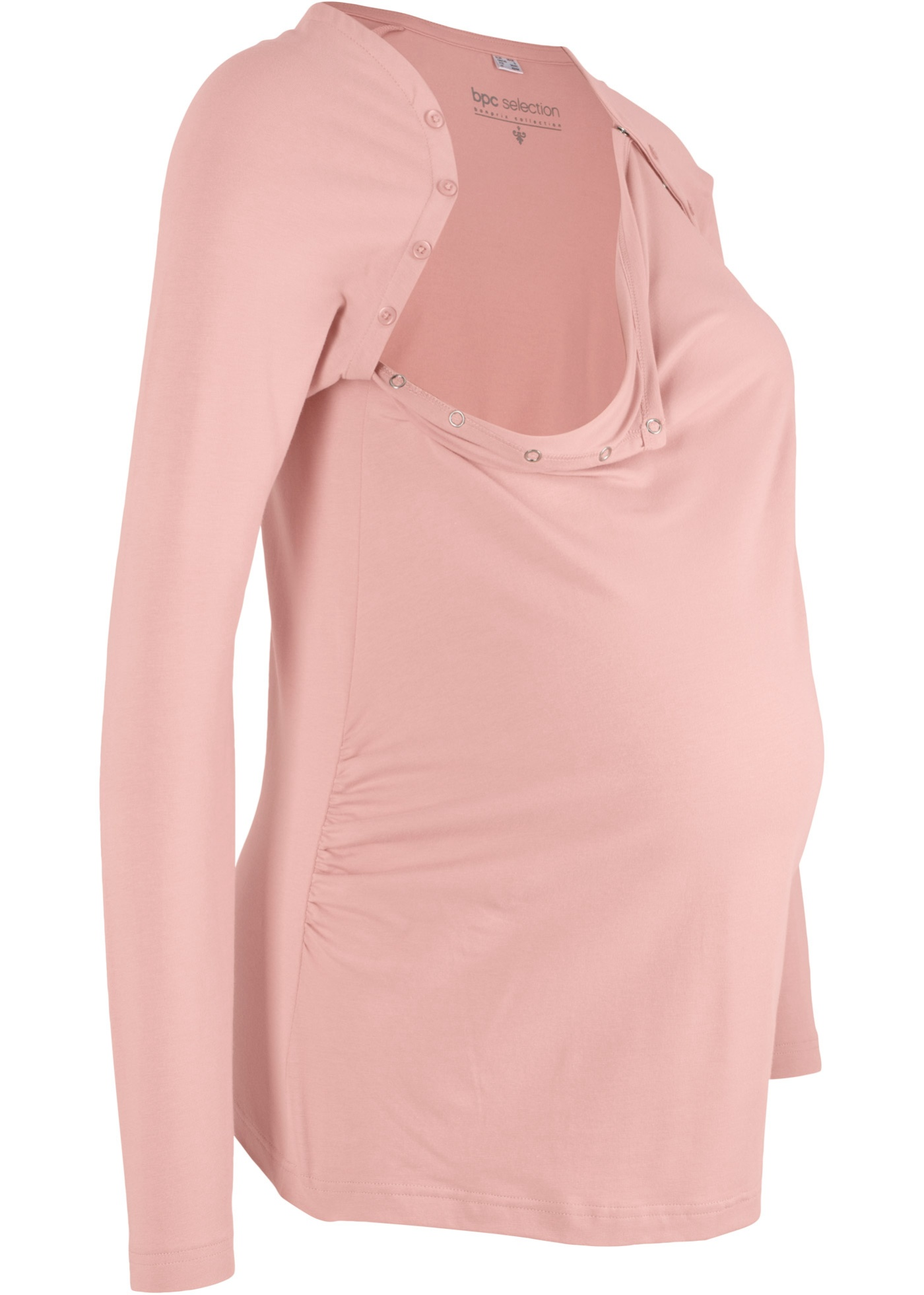 Těhotenské/kojicí triko - Růžová