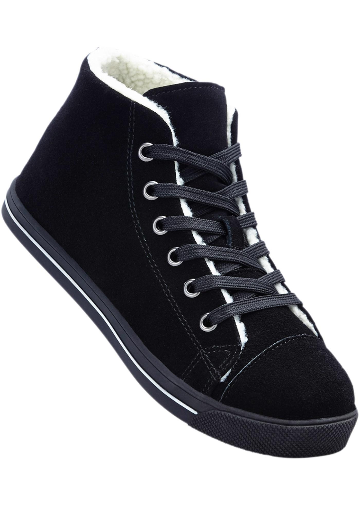 8535b0e5abe Kožená sportovní obuv - Černá