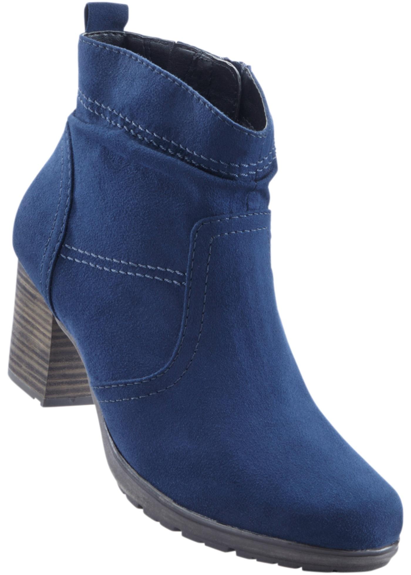 Kotníčková obuv - Modrá