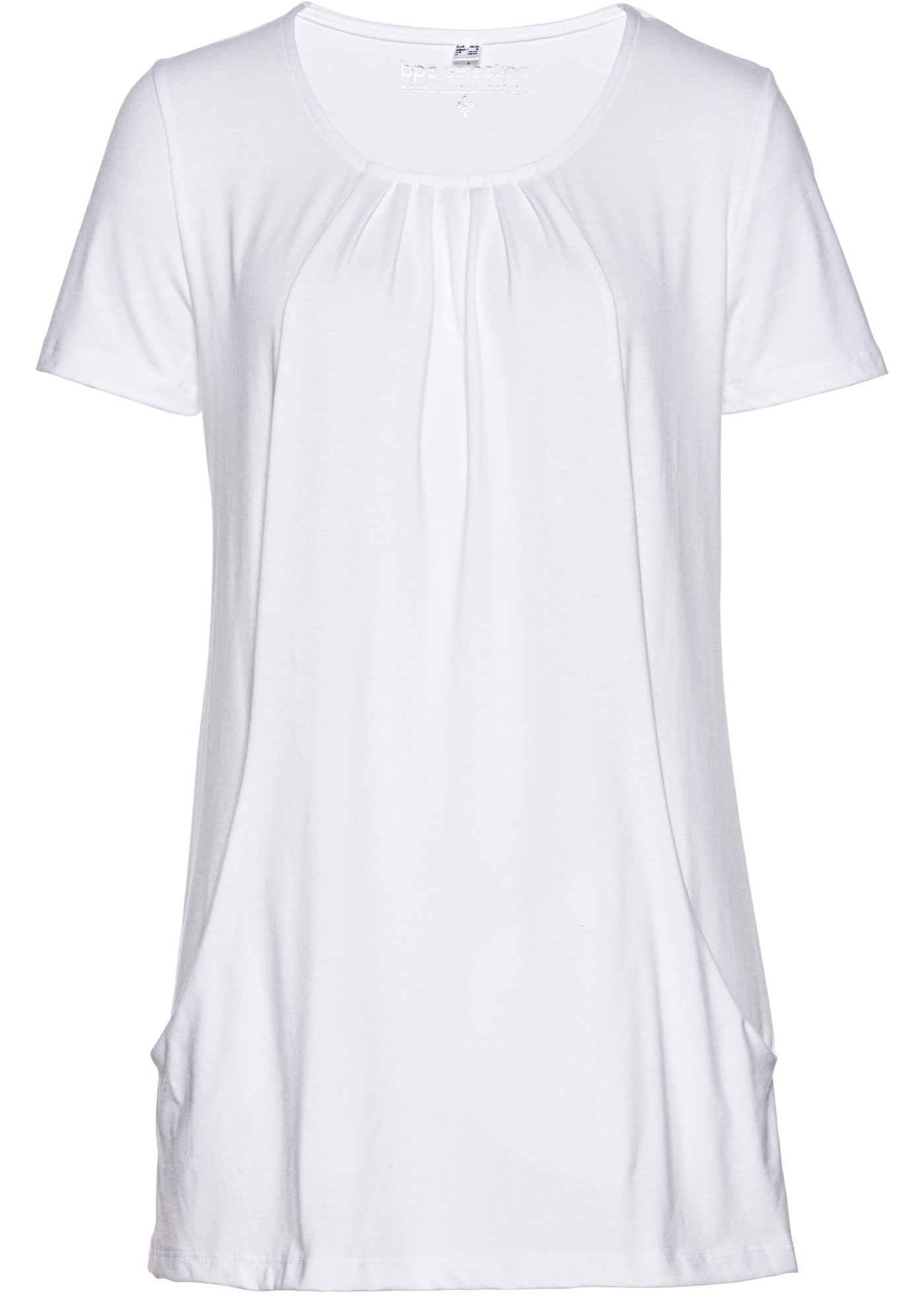 Dlouhé tričko - Bílá