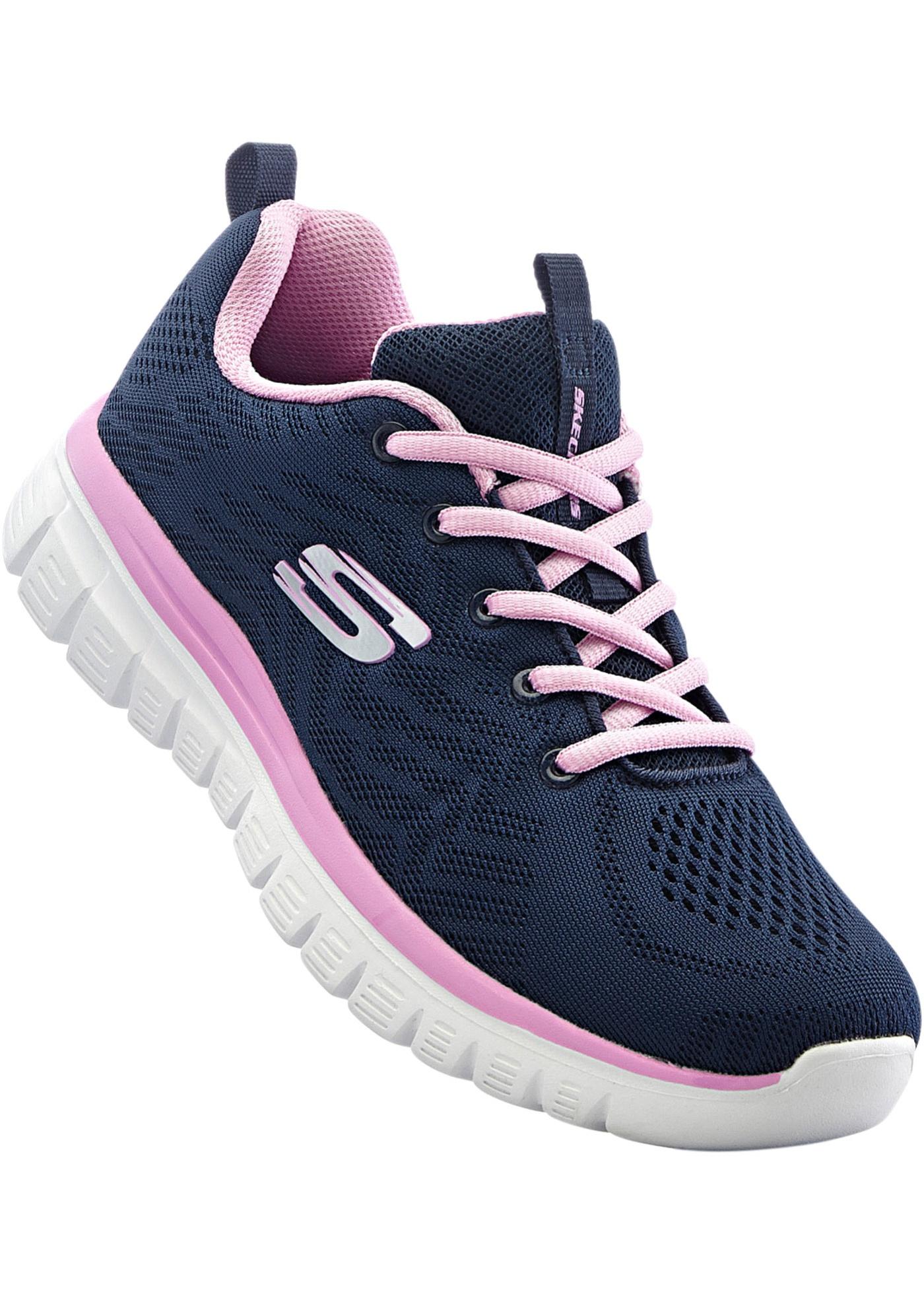 Sportovní obuv Skechers s Memory Foam - Modrá 4b9dcd8cb3