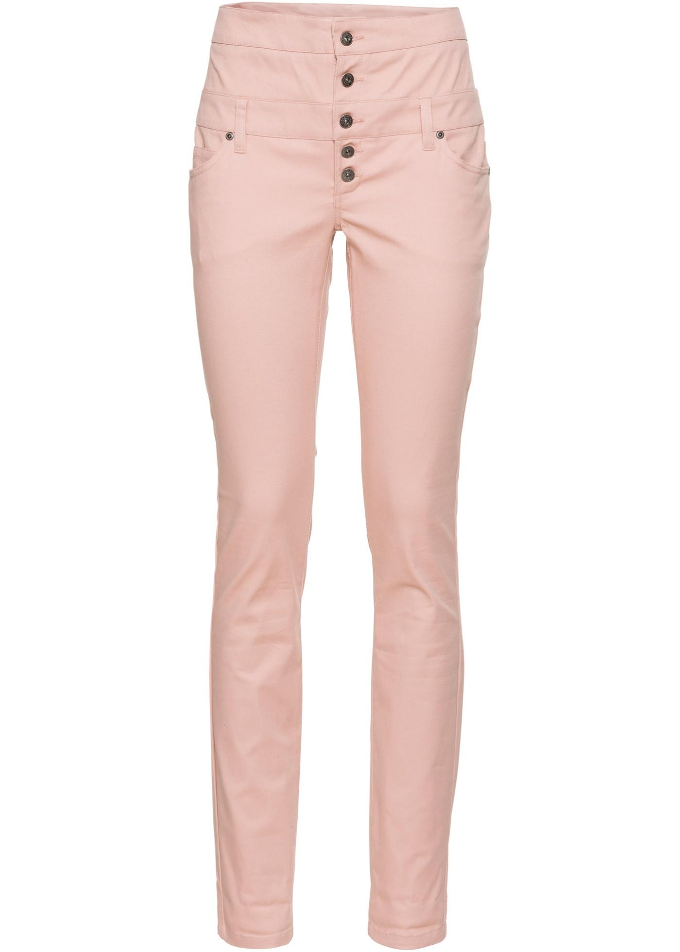 Strečové kalhoty Skinny - Růžová